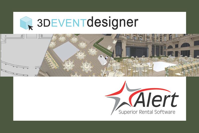 Alert Rental's 3D Event Designer Integration