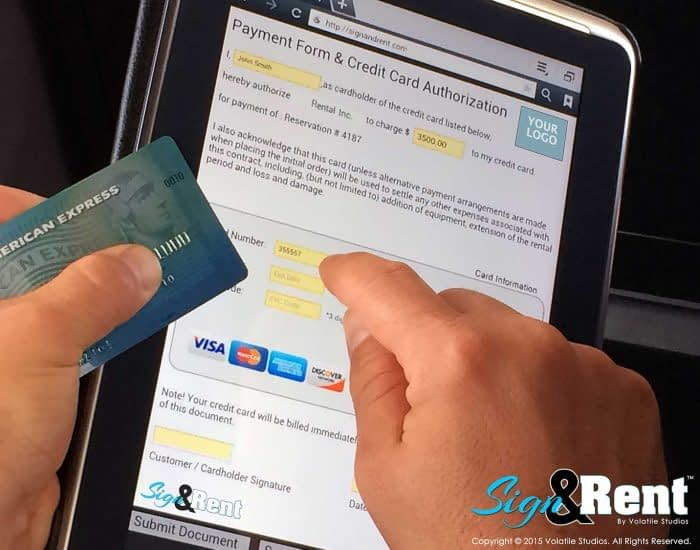 Alert Rental's Sign and Rent Allows Signatures Anywhere with Ease